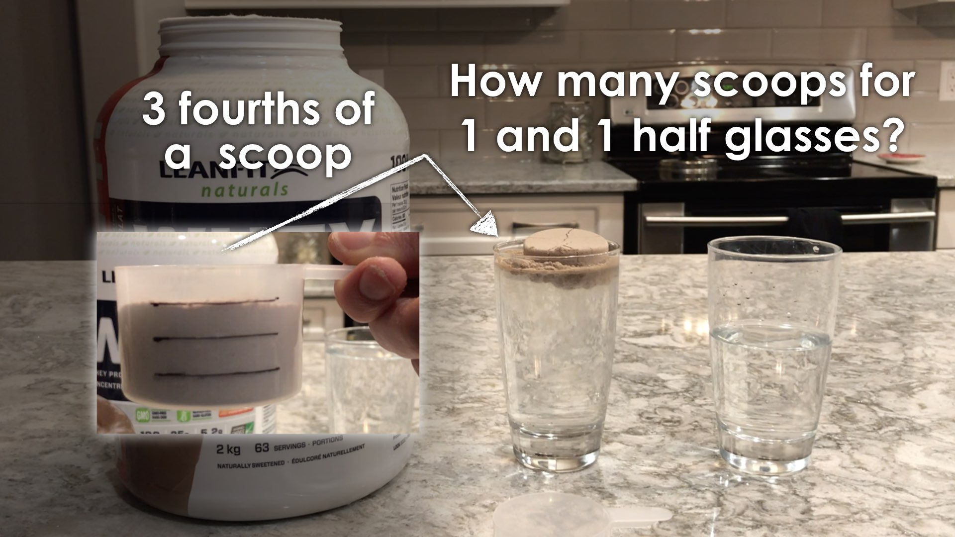 Protein Shakes 3 Act Math Task Extend 1 - Spark