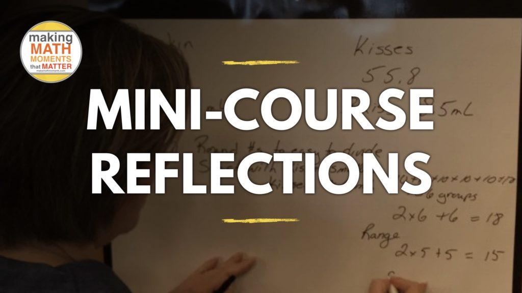 Forum Mini-Course Reflections