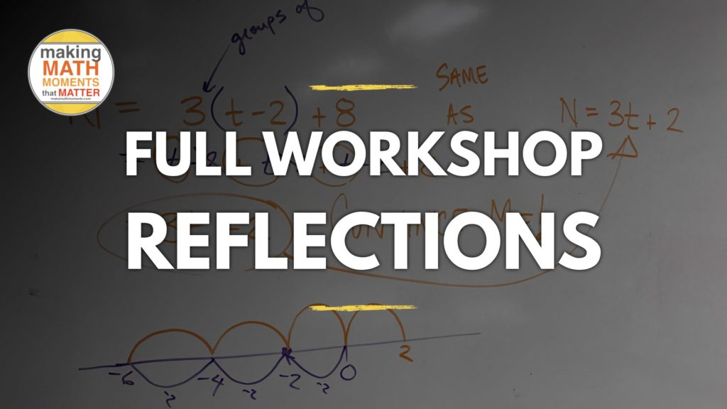 Forum Full Workshop Reflection