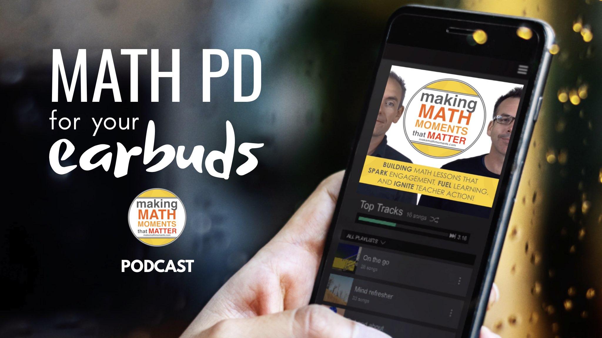 Make Math Moments Podcast