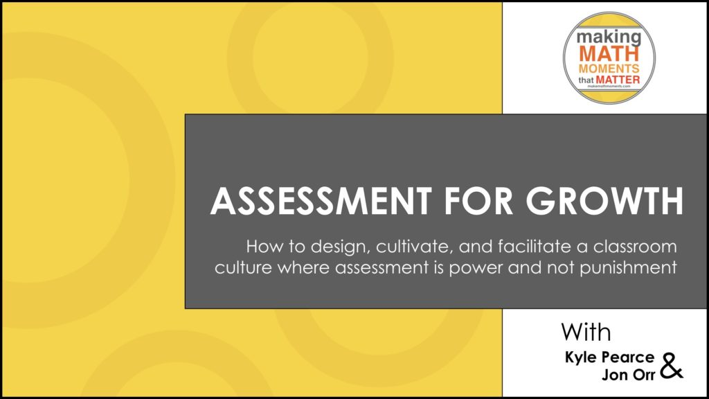 Assessment For Growth Title Page