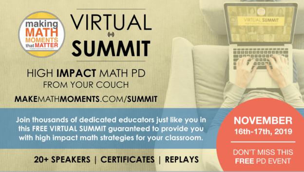 Make Math Moments Virtual Summit 2019