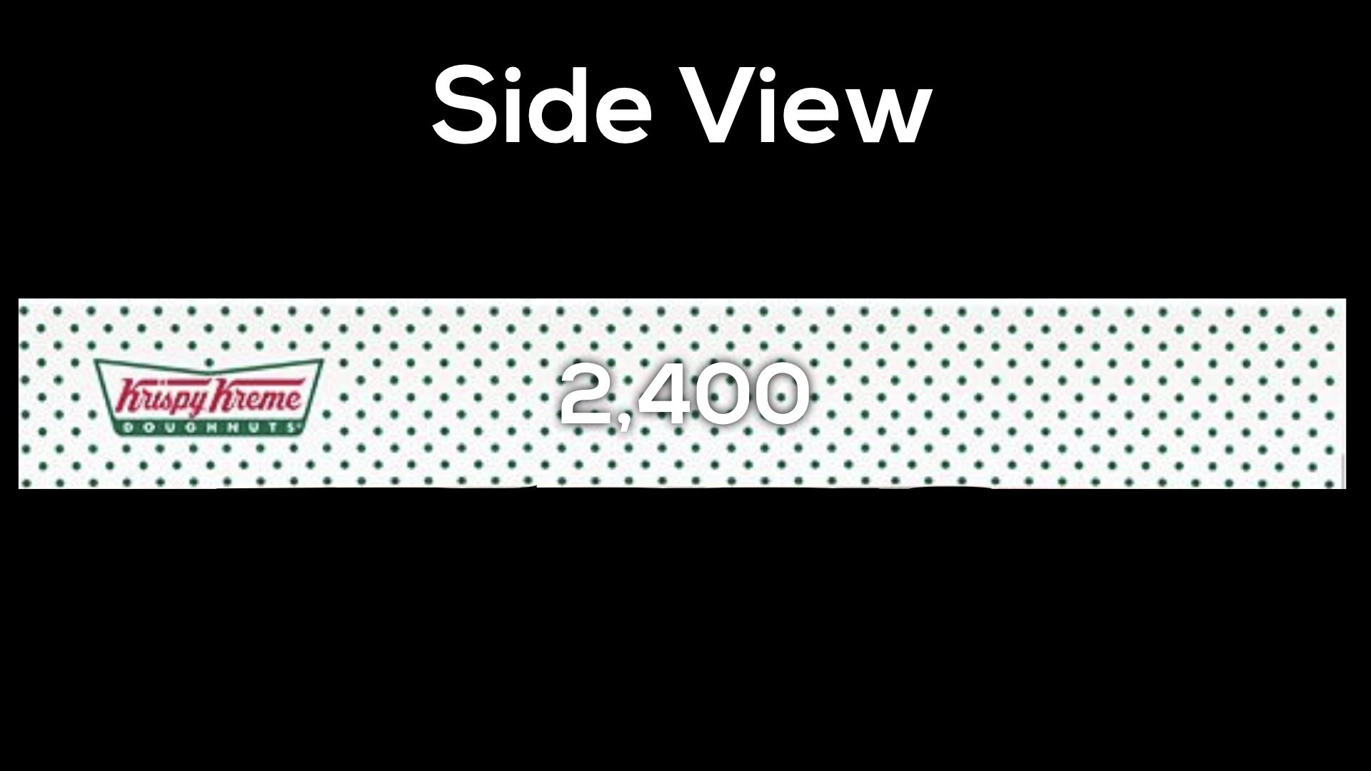 Krispy Kreme Donut Delight Extension 1 - How many layers - side view