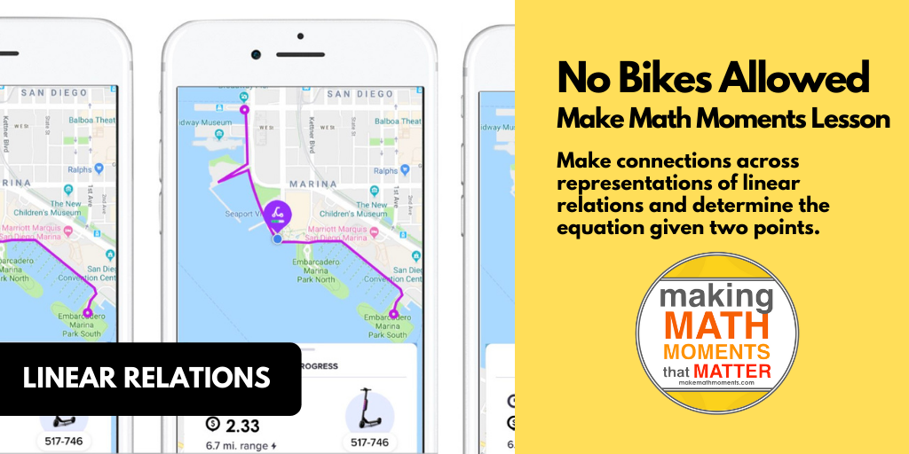MMM Task - No Bikes Allowed - Featured Image