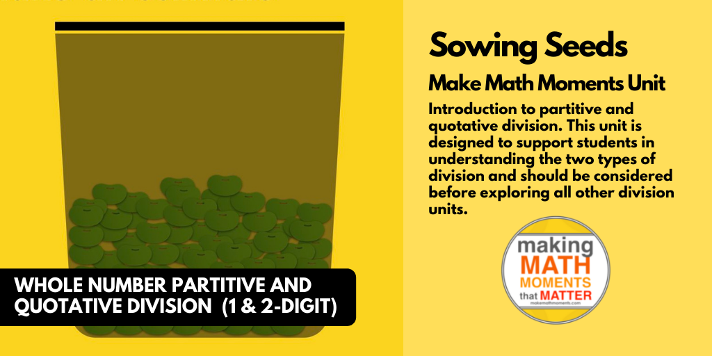 MMM Unit – Sowing Seeds - Featured Image