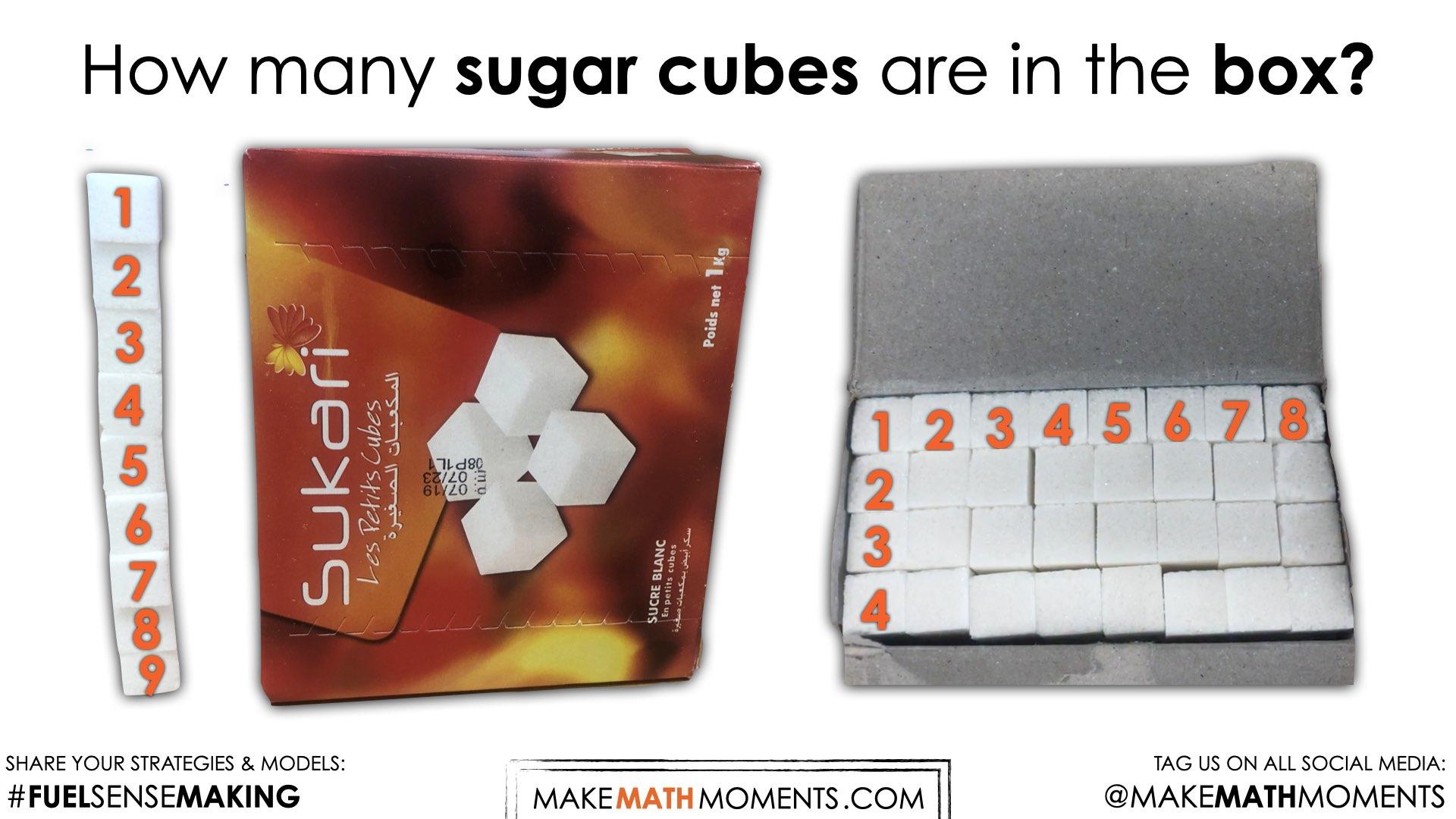 Sugar Cubes [Day 1] - How Many Cubes - 05 - Sense Making - Struggle Prompt