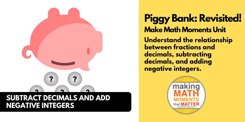 MMM Task – Piggy Bank Revisited - Featured Image