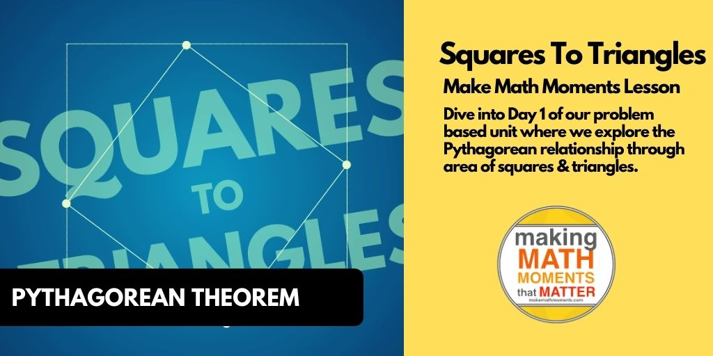 Squares To Triangles [Day 1] - Featured Image