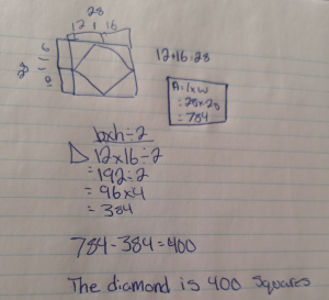 Squares To Triangles [Day 1] - Student Solution 2-2